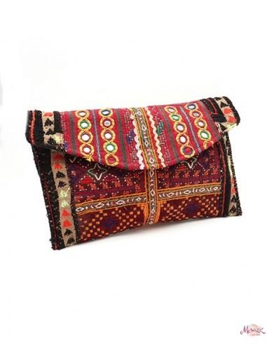 Pochette indienne en tissu -  Mosaik bijoux indiens