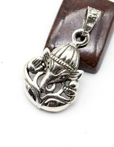 Pendentif Ganesh en argent 2