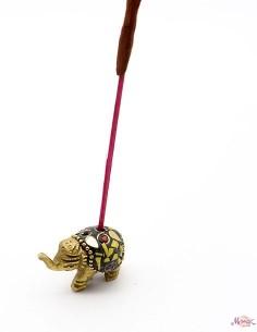 Porte encens éléphant doré... 2