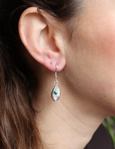 Boucles d'oreilles cauris... 2