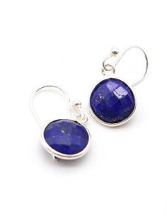 Boucles lapis lazuli sur...