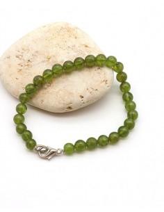 Bracelet en Péridot perles...