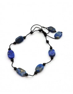 Bracelet pierres en lapis...