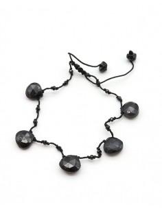 Bracelet pierres onyx...