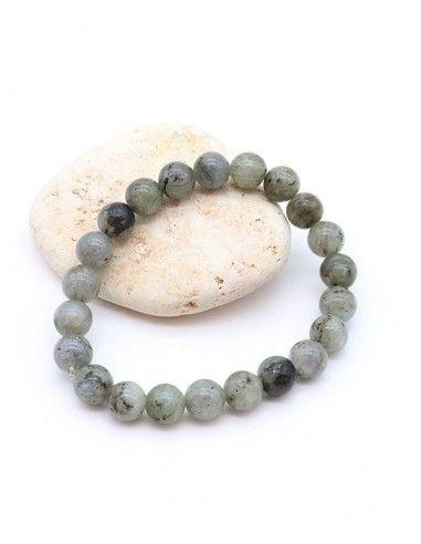 Bracelet perles labradorite - Mosaik bijoux indiens