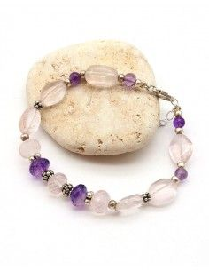 Bracelet pierres Quartz...
