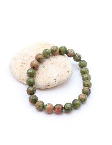 Bracelet unakite - Mosaik bijoux indiens