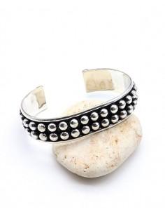 Gros bracelet argent...