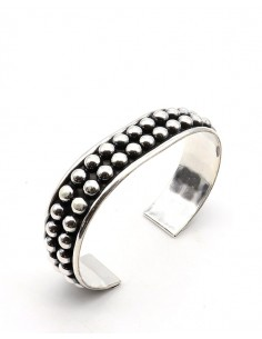 Gros bracelet argent... 2