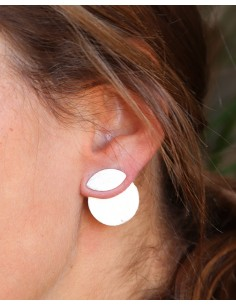 Boucles d'oreilles plaqué... 2