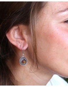 Boucles d'oreilles rondes... 2