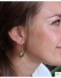 Boucles d'oreilles triangle... 2