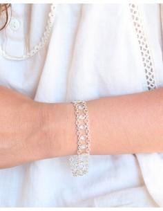 Bracelet argent large... 2