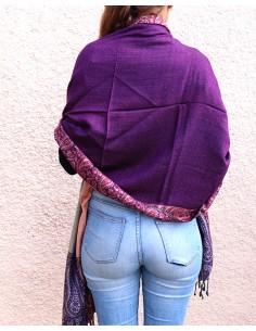 Etole violette à frise colorée 2