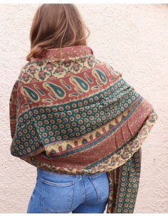 Echarpe en laine à motifs... 2