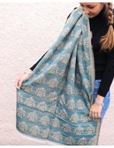Grosse écharpe polaire - Mosaik bijoux indiens 2