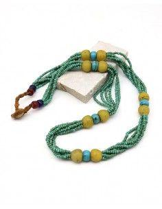 Collier tibétain en perles...