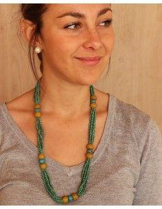 Collier tibétain en perles... 2