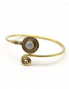Bracelet laiton et pierre...