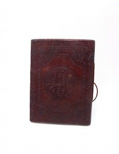 Grand carnet en cuir motif... 2