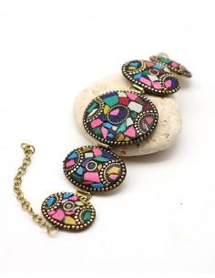 Bracelet tibétain et éclats...