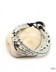 Bracelet 4 rangs perles...