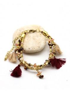 Bracelet 3 rangs perles...