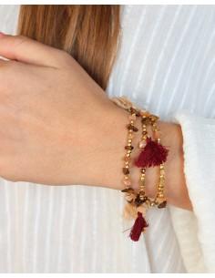 Bracelet 3 rangs perles... 2
