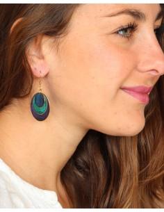 Boucles d'oreilles peintes... 2