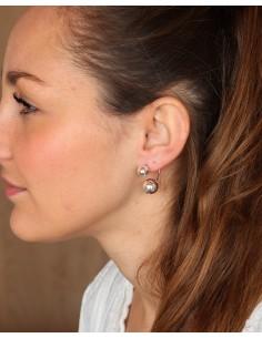 Boucles d'oreilles argent 2... 2