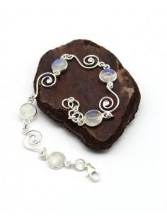 Bracelet argent et pierre... 2