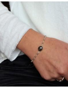 Bracelet argent fin et... 2