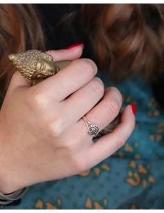 Bague arbre de vie argent - Mosaik bijoux indiens 2