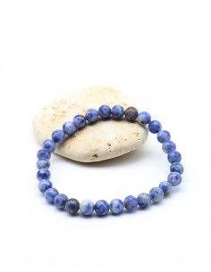 Bracelet sodalite perles...