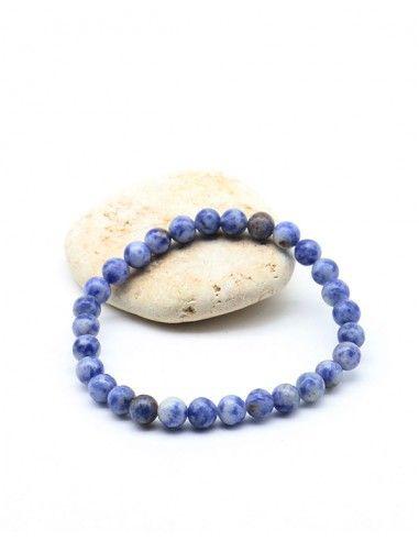 Bracelet sodalite - Mosaik bijoux indiens