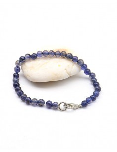 Bracelet iolite naturelle - Mosaik bijoux indiens