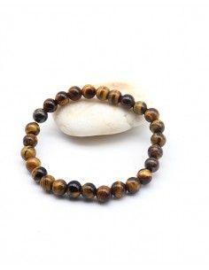 Bracelet oeil de tigre - Mosaik bijoux indiens