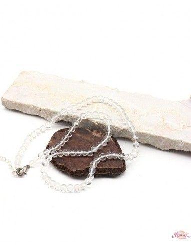 Collier en quartz naturel - Mosaik bijoux indiens