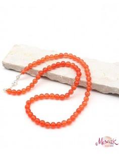 Collier cornaline perles...