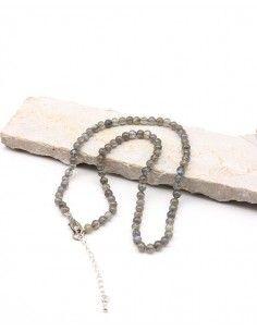 Collier labradorite perles...