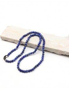 collier lapis lazuli perles...