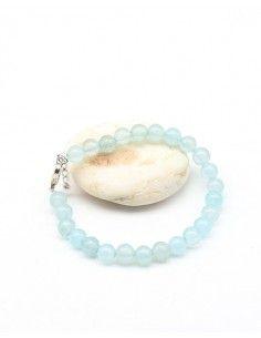 Bracelet onyx bleu pierres...