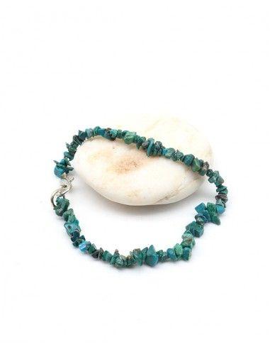 Bracelet chrysocole - Mosaik bijoux indiens