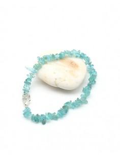 Bracelet topaze bleue - Mosaik bijoux indiens