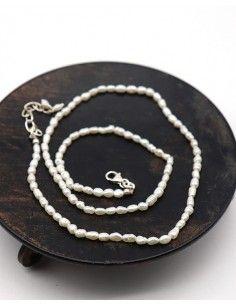 Collier en perles de nacre