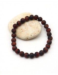 Bracelet oeil de taureau mât pour homme - Mosaik bijoux indiens