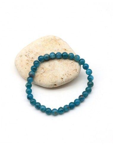 Bracelet apatite bleue - Mosaik bijoux indiens