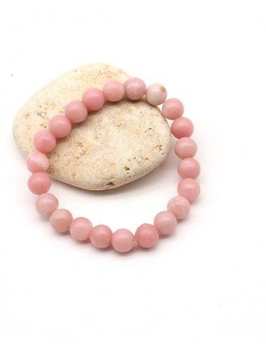 Bracelet pierres opale rose - Mosaik bijoux indiens