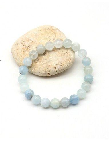 Bracelet opale bleue - Mosaik bijoux indiens