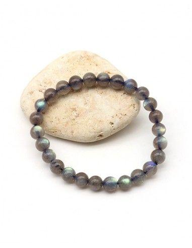 Bracelet labradorite qualité supérieure - Mosaik bijoux indiens